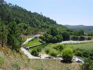 Praia fluvial da Aldeia Ana de Aviz, 2004 (Portugal)