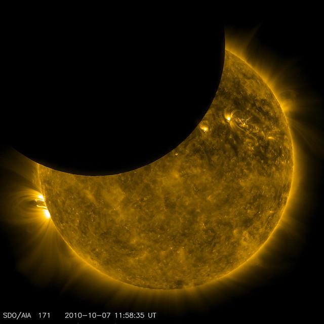 SDO Observed its First Lunar Transit | NASA image captured ...
