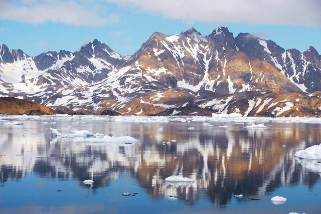 Costa de Tasiilaq. Groenlandia.