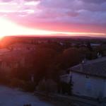 Sunset from Le Tour Des Anges, Sablet