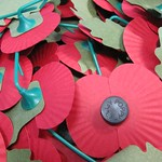 Remembrance poppies by Howard Lake on Flickr.com