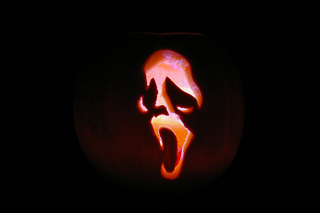 scream pumpkin template - 5124435042 62af7c38ee