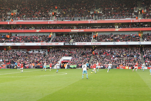 Arsenal 1 West Ham 0, October 30 2010