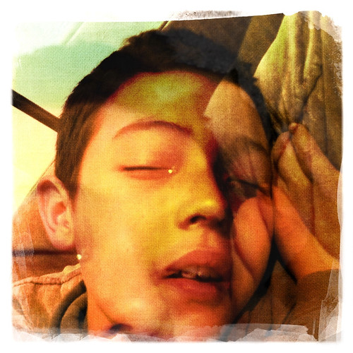 sick boy double exposure