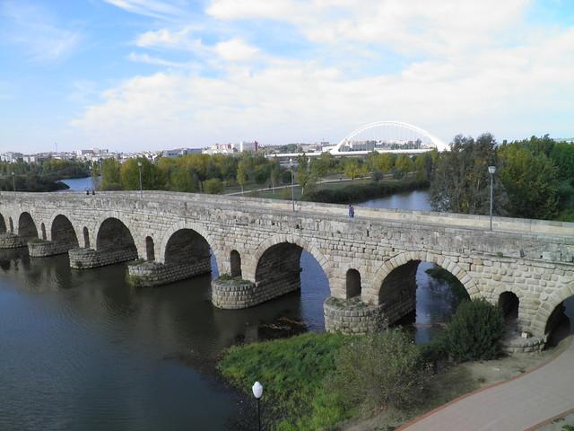 Roman Bridge over the river Guadiana, Augusta Emerita