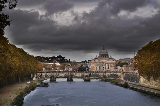 Tiber River- Rome