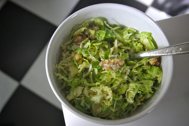 Brussel Sprout Slaw Americas Test Kitchen