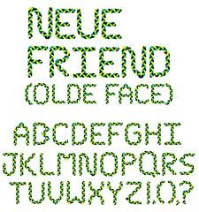 braid letters