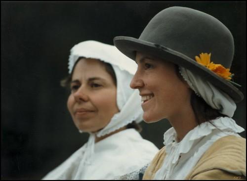 portraits women faces 17thcentury plymouth reality recreation myth pilgrims plimothplantation thanbksgiving