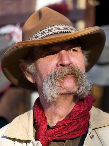 shadow portrait hat cowboy texas mustache rancher texan 10gallon flickrduel