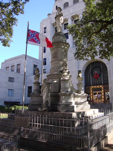 Caddo Parish Civil War Monument Shreveport Louisiana
