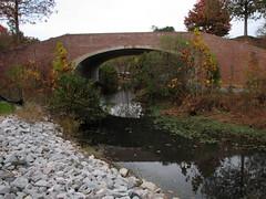 Main Campus Drive Bridge Walnut Creek Lake Raleigh NC 0481