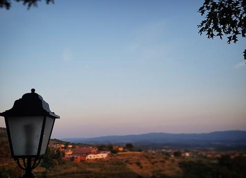 Toscana: vista al tramonto