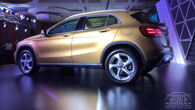 2017 Mercedes Benz GLA facelift