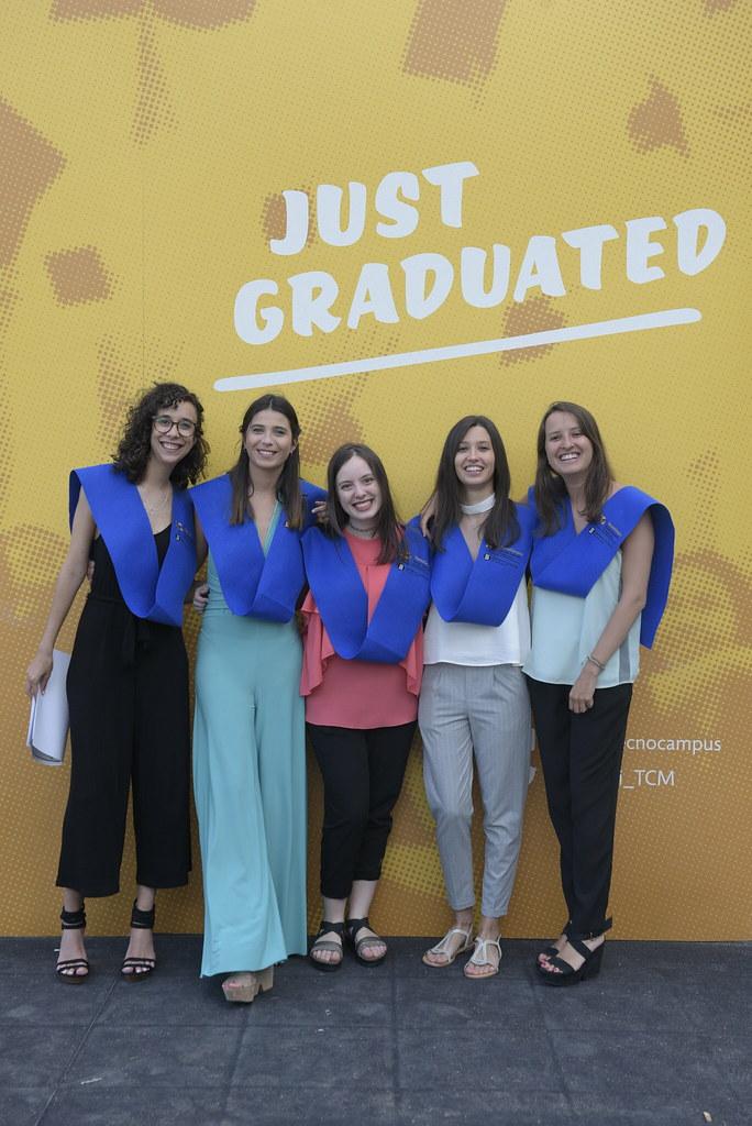 Acte de graduació de l'Escola Superior Politècnica 2017