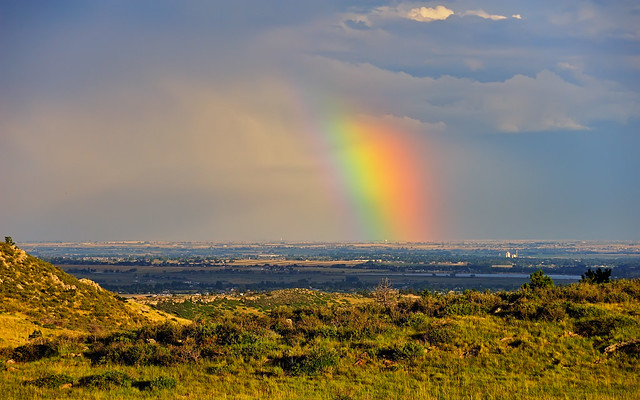 Ginormous Front Range Rainbow