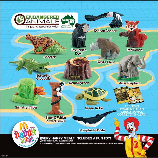 Toys From Mcdonald S Happy Meals : Happy meal toys australia september flickr photo