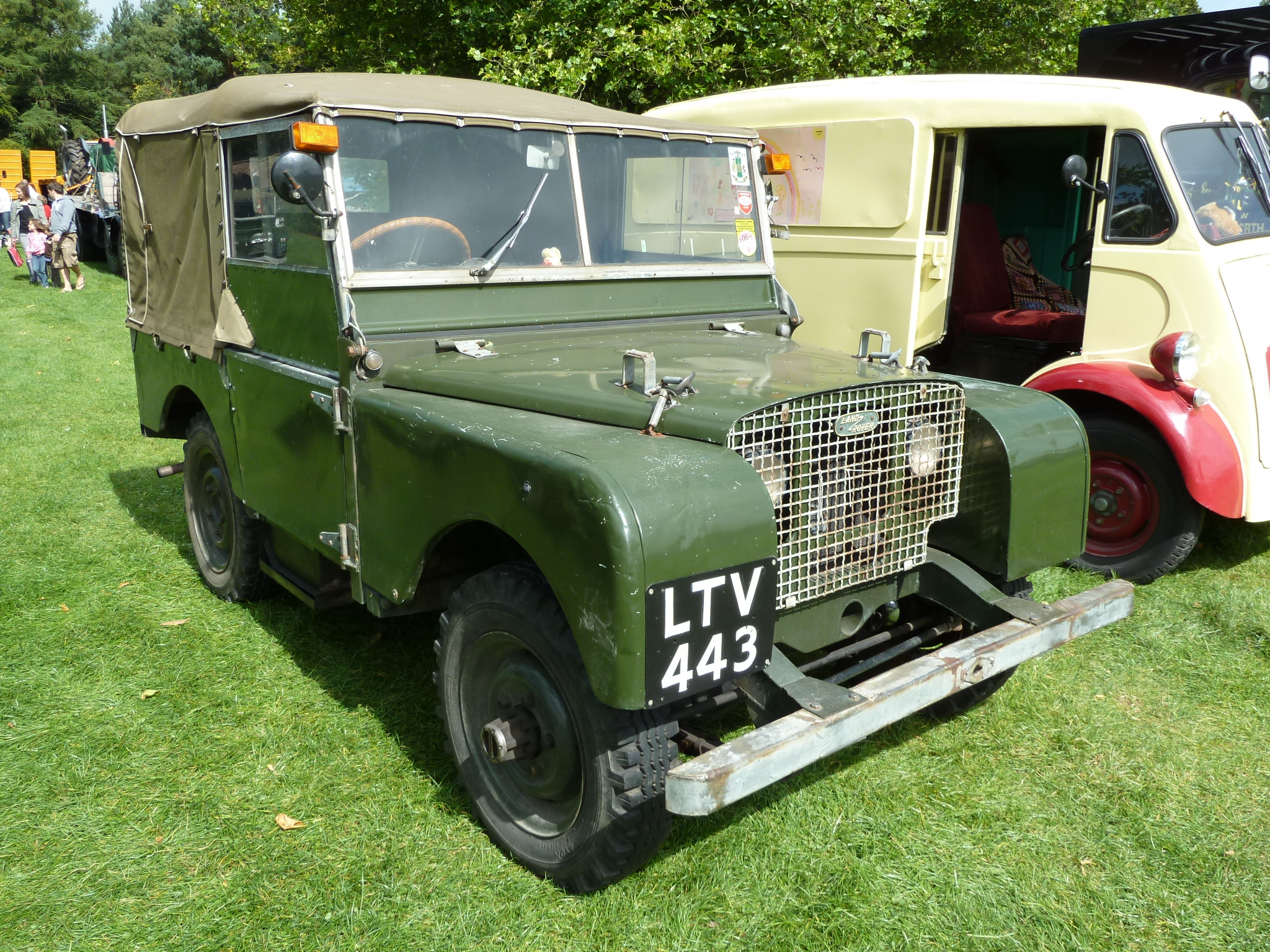 Series 1 Land Rover Engine 1948 Land Rover Series 1 2048