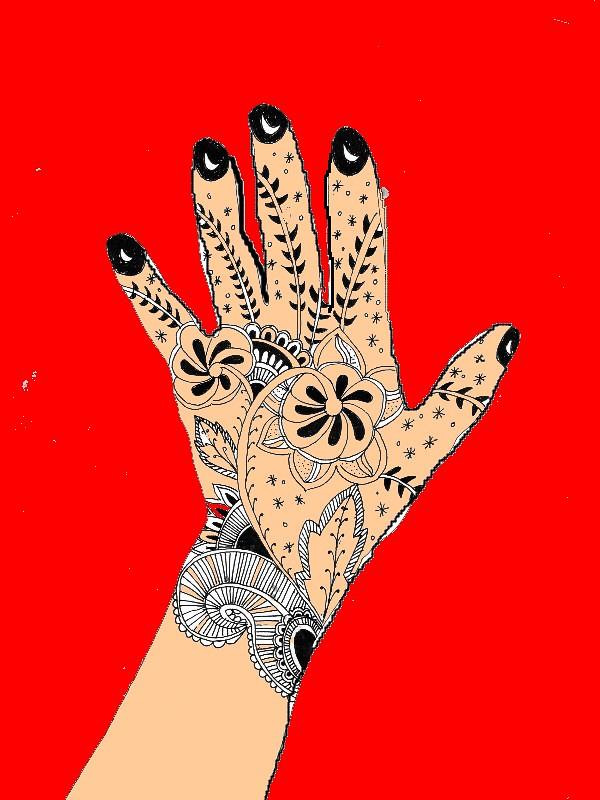 Henna Tattoo Hand Design  A Photo On Flickriver