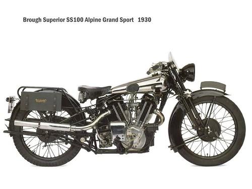 Brough Superior SS100 - 1930