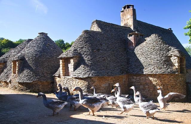 France dordogne saint andr d 39 allas les cabanes du breu flickr ph - Les cabanes du trappeur ...