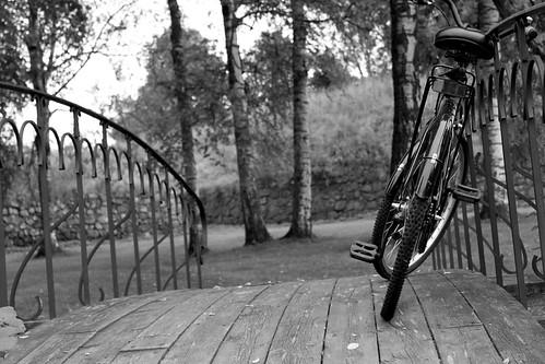 bridge bike scenery valokvtehtävä