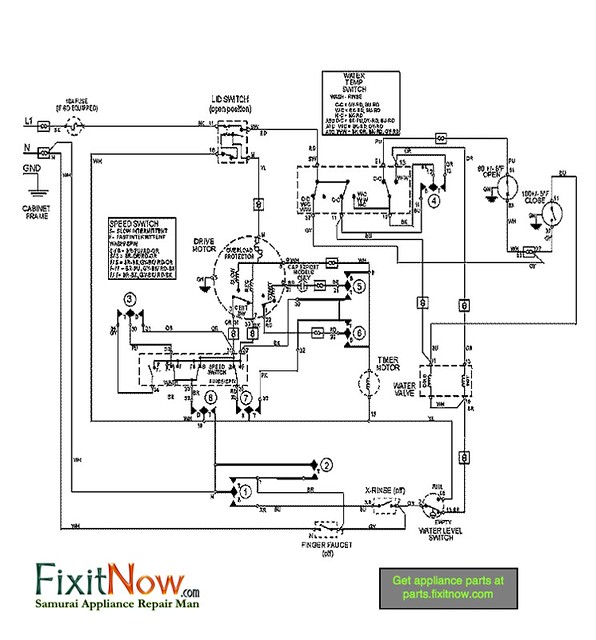 Maytag Washer Mavt834 Wiring Diagram