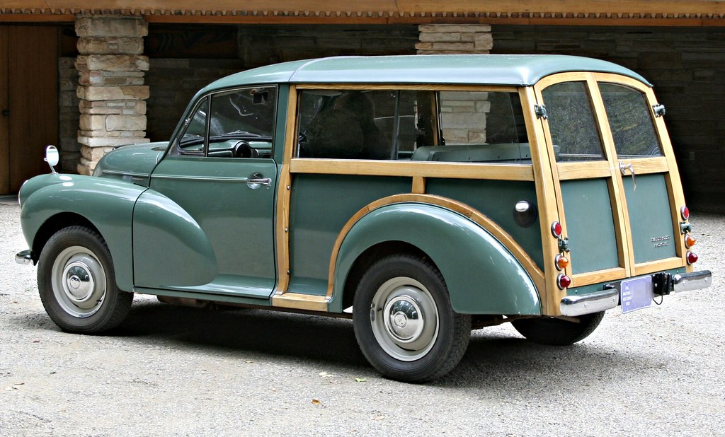 British Woody - Morris Minor 1000