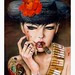 Brian Viveros 'Mess With The Bull II (dos)' - featured in 'Dirtyland' this October at Thinkspace