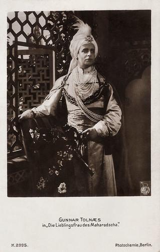 Gunnar Tolnaes in Die Lieblingsfrau der Maharadscha (1921)