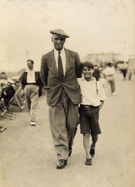 1934 Grandad + Dad