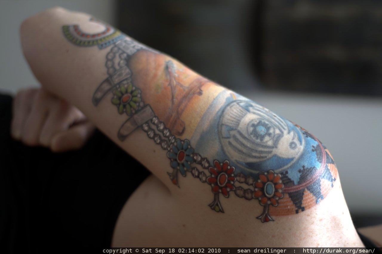 Silver Tattoo Wedding Ring