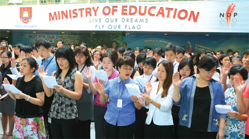 """celebrating teachers with tribute song """"In This Moment"""": from Singapore"""