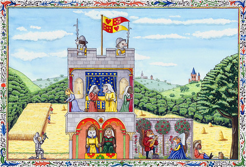 Medieval Castle People