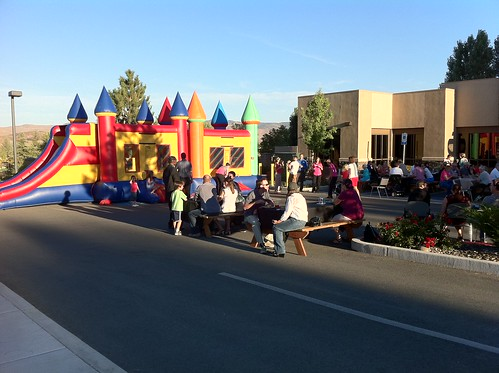 The Kids Loved the Bounce House