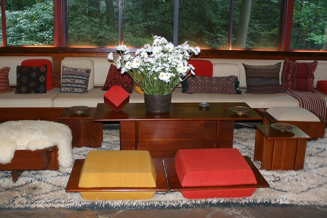Frank Lloyd Wright Furniture At Fallingwater Flickr Photo Sharing