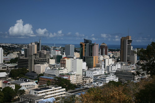 Port-Louis, the capital of the Republic of Mauritius