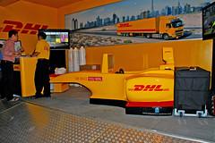 Motor Racing Simulator - DHL