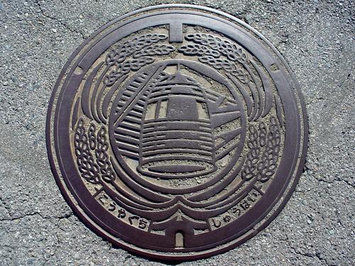 Koyaguchi Wakayama,manholecover 3(和歌山県高野口町のマンホール3)