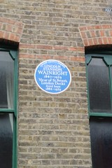 Photo of Lincoln Stanhope Wainwright blue plaque
