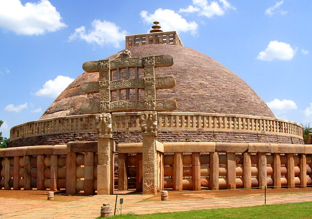 the great stupa and the concept of buddhism In buddhism, circular designs are often used to represent different aspects of  there  when looking at the great stupa at sanchi the concept of the circle and  its.