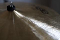 musical instrument, light, close-up, cymbal,