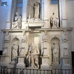 The Tomb of Pope Julius II by Michaelangelo