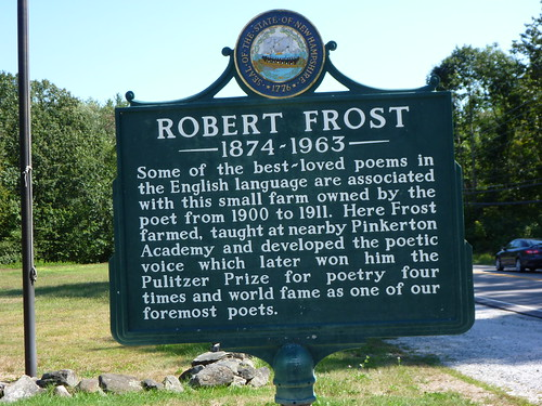 Robert Frost House - Sign