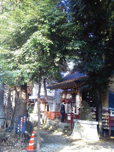 皆中稲荷神社 @新宿 大久保百人町