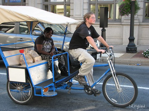 Bike Taxi in Historic District Frederick
