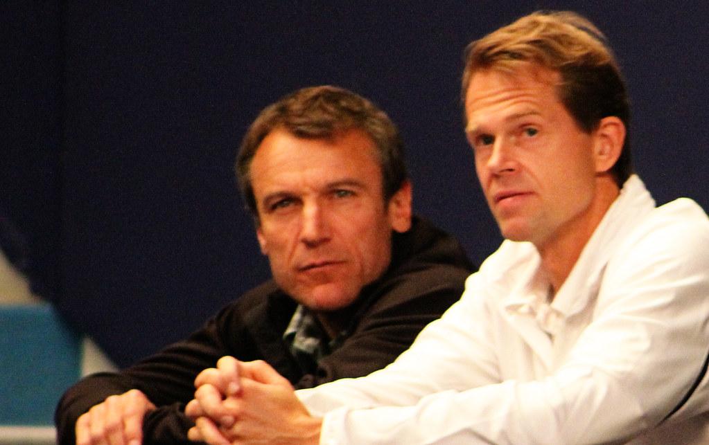 Mats Wilander and Stefan Edberg