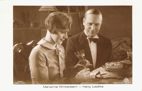 Marianne Winkelstern, Harry Liedtke