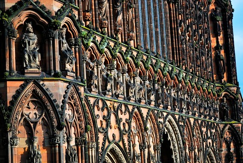 Lichfield Cathedral West Front
