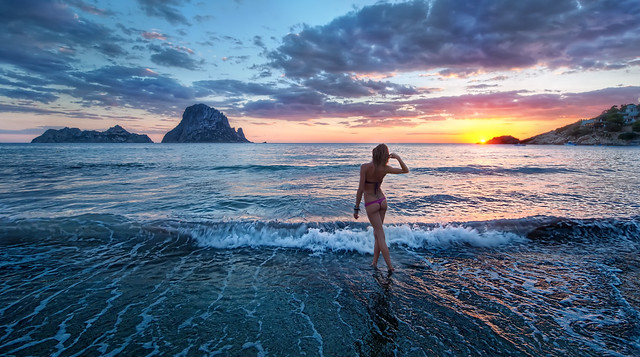 Sunset in Ibiza